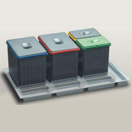 Cubo basura reciclaje I Cajon 90 cms - Para cacerolero