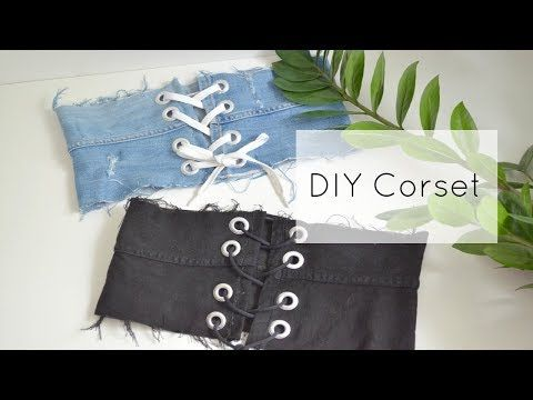 Diy Turkish Vest No Sew Thrifty Belly Ep2 Youtube Diy Corset Renaissance Costume Diy Diy Clothes Tops