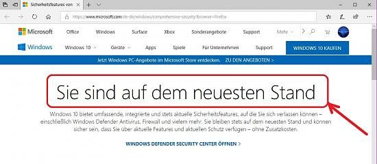 Windows 10 So Lasst Sich Der Updatestand Ganz Genau Uberprufen Microsoft Gelassenheit Stand