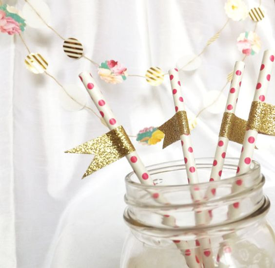תוצאת תמונה עבור paper straws washi tape