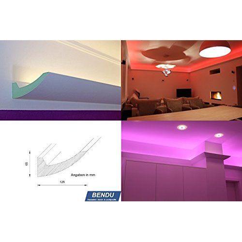 BENDU - Moderne Stuckleisten bzw Lichtprofile für indirekte - wohnzimmer beleuchtung indirekt