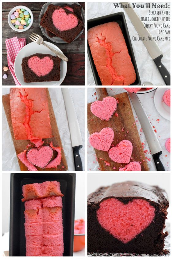 valentinstag kuchen von rezepte pinterest kuchen essen und kuchen. Black Bedroom Furniture Sets. Home Design Ideas