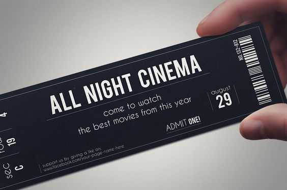 STYLISH FABRIC ticket template @creativework247 Cards Pinterest - admit one ticket template free