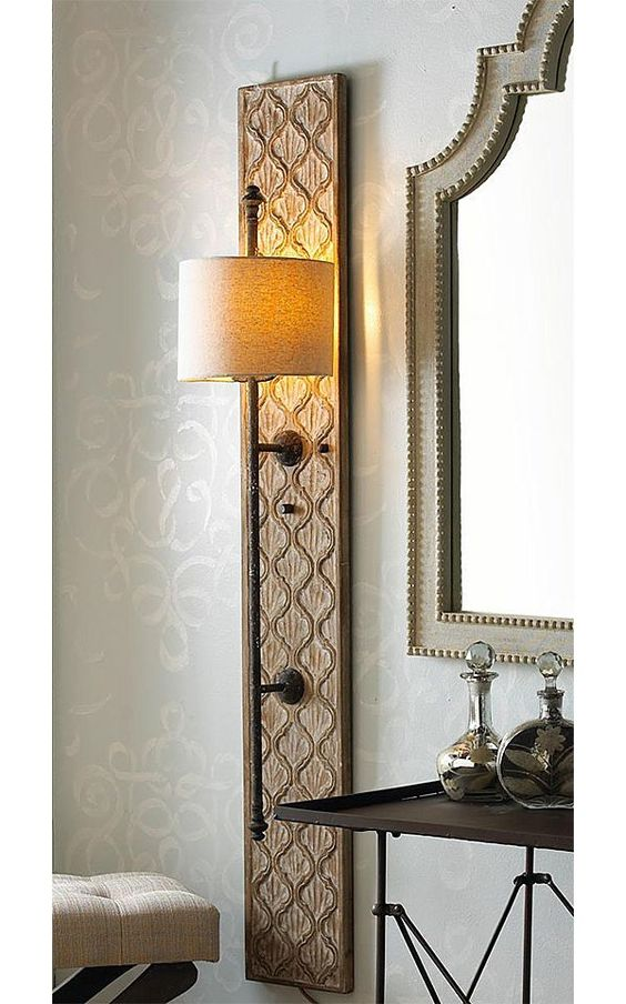 Make Your Own Elegant Wall Sconces