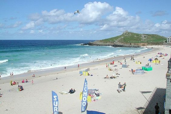 Poerhmeor Beach St Ives Cornwall