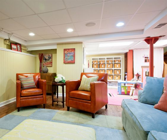 Basement Living Room Designs Unique Basement Renovations For Kids Room Ideas  Basement  Pinterest Design Decoration