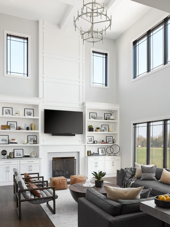 Double Height Family Room