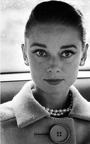 Audrey by Avedon, 1959.