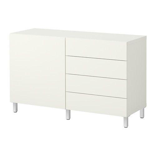 BESTÅ Aufbewkomb.+Türen/Schubladen IKEA