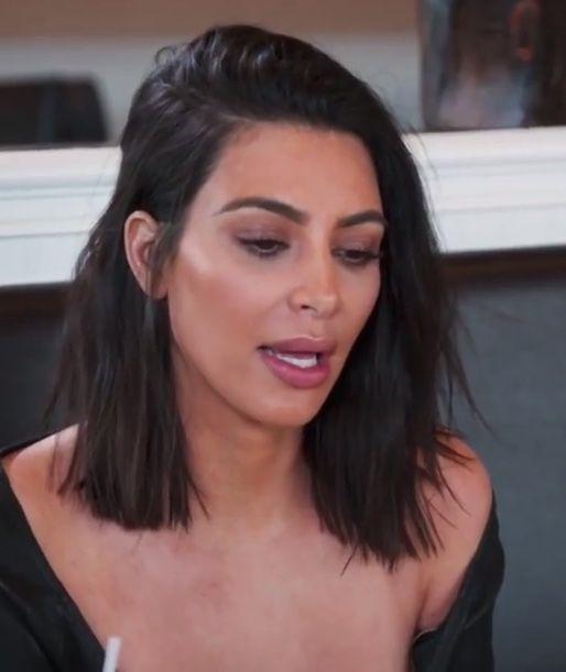 Kim Kardashian Lob Hair Short Hair Balayage Lob Hairstyle Medium Hair Styles