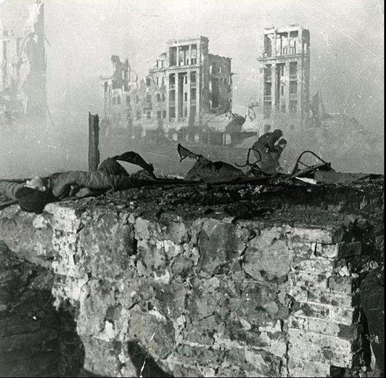 Fighting in Stalingrad