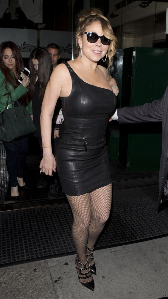 Mariah Carey Flaunts Her Weight Loss in a Skin-Tight Black Dress — Plus See More Photos of Her Body Transformation!