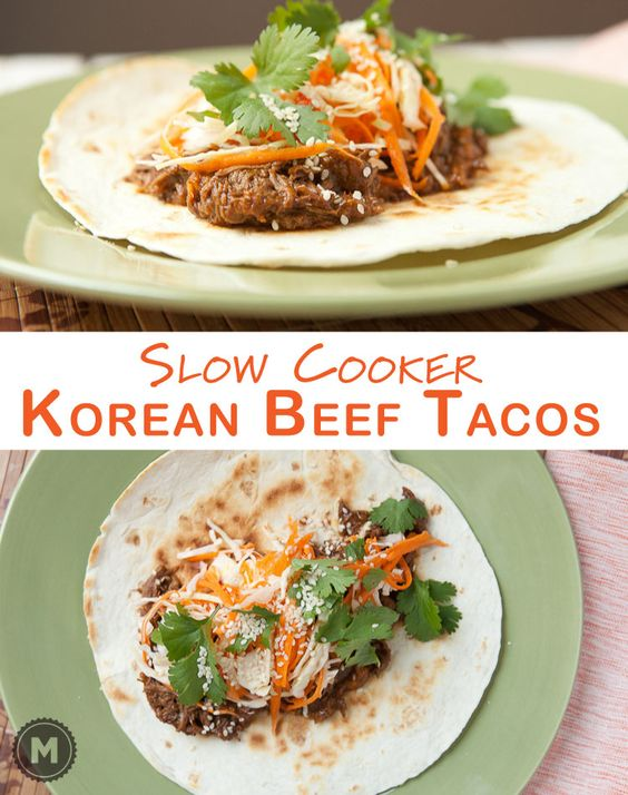 Korean beef, Tacos and Beef on Pinterest