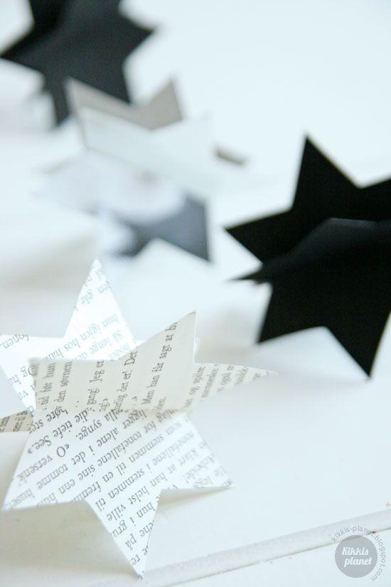 Kikkis planet diy diy crafts pinterest stars for Diy paper stars