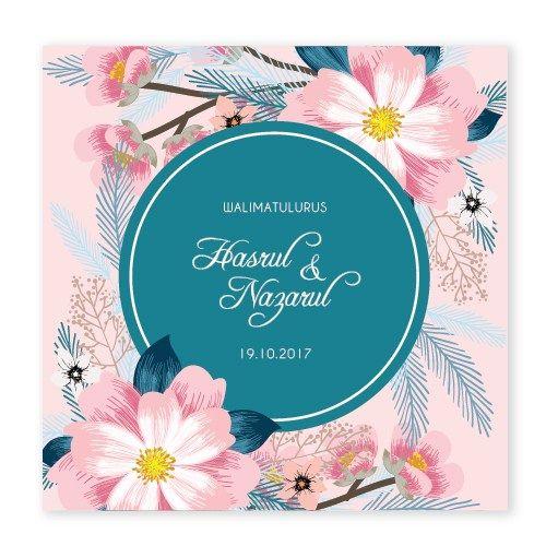 Home Chantiqs Kad Kahwin Kad Kahwin Kad Kahwin Design Floral