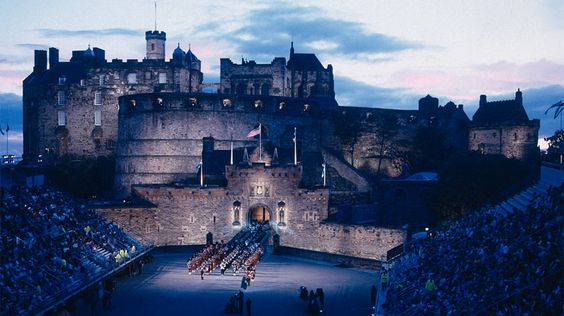 Edinburgh Castle - visiting in June for AC coaching conference - can't wait!