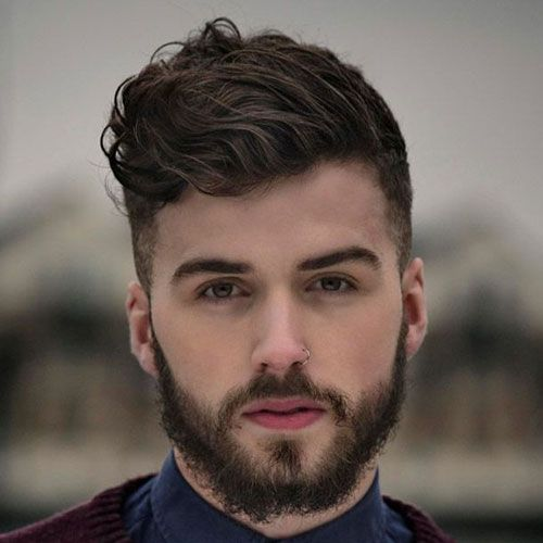 50 Best Wavy Hairstyles For Men Cool Haircuts For Wavy Hair 2020 Guide Wavy Hair Men Mens Haircuts Fade Short Hair With Beard
