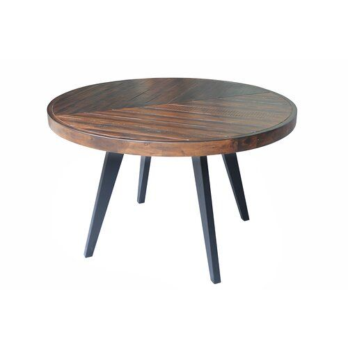Fiskeville Acacia Round Dining Table Round Dining Table Dining Table Diy Dining Table