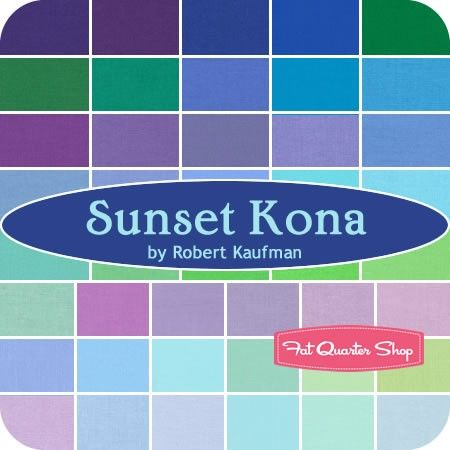 Sunset Kona Cotton Solids Roll Up SKU #RU-263-43