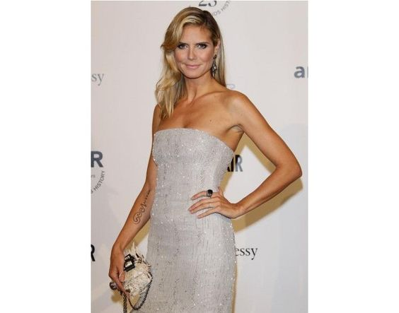 Should Heidi Klum keep her Seal tattoo after the divorce?