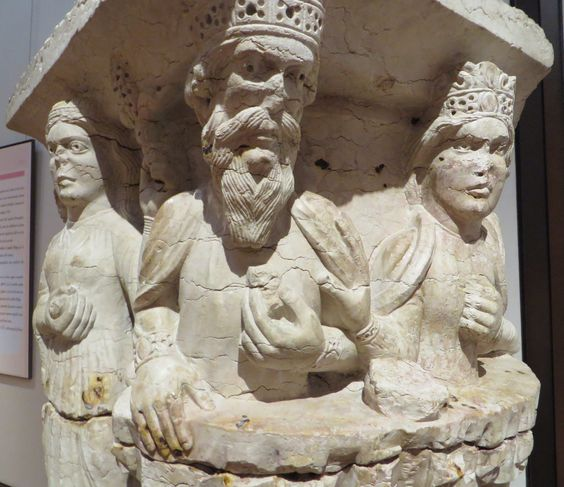 Chapiteau avec Hérode et la décollation de Jean-Baptiste, c. 1200,  Musée…