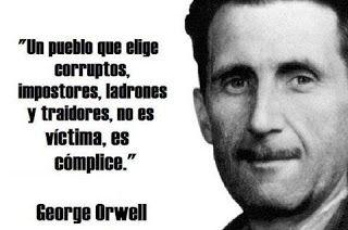 Caminos del viento: ¿ Víctima...?. George Orwell.