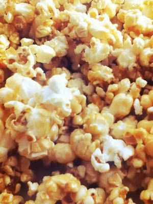 Snickerdoodle: microwave caramel popcorn