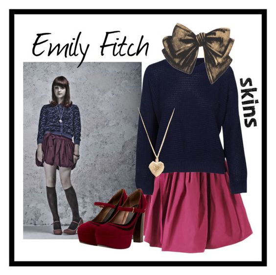 Emily Fitch ~ Skins. by rachelzawilski on Polyvore featuring Marni, Bena and Scoop