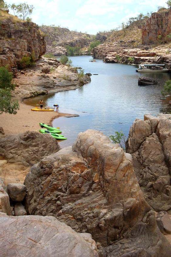 Nitmiluk National Park, Northern Territory, Australia. AFAR Magazine post by Chantal Dunbar #wander