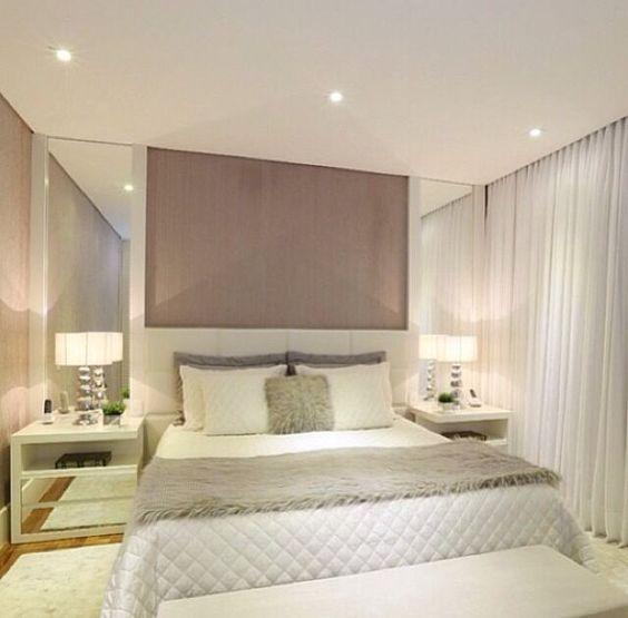 Cabeceiras de cama podem ser pequenas se os quartos forem aconchegantes, mas ainda assim muito lindas e funcionais. Confira no nosso post de hoje!