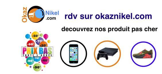 Retrouvez sur le site OkazNikel tous les objets neufs ou occasions discount qui conviennent très bien à vos besoins. #vente #achat #echange #produits #hightech #mode #pascher #sevice #marketing #ecommerce