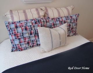 Red Door Home: Time for New Pillow Cases
