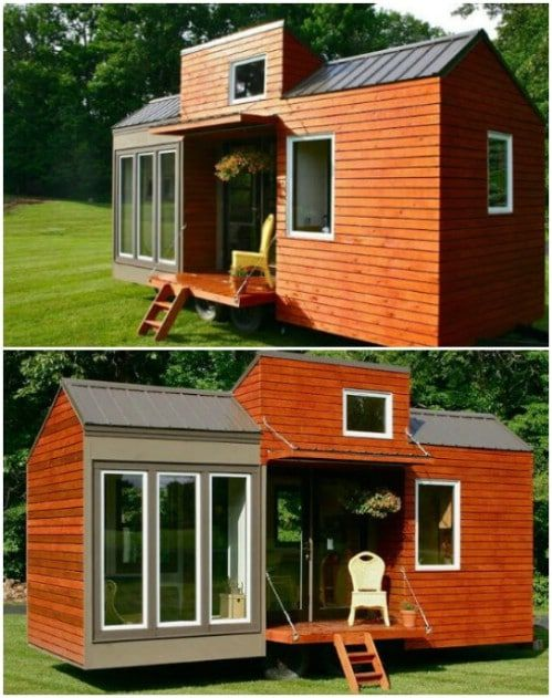 17 Do It Yourself Tiny Houses With Free Or Low Cost Plans Diy Tiny House Plans Tiny House Plans Diy Tiny House