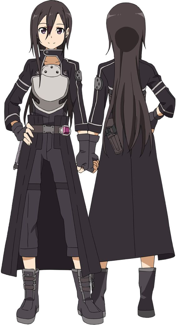 """Gun Gale Online - Yes this is Kazuta Kirigaya (Kirito), and yes it is a he. It is anime and a Full-dive game version of him, haha! He is not  like that """"in real life""""... The feminine character chosen for him was random."""