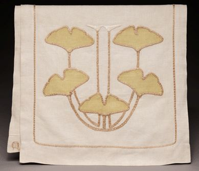 Stickley made Craftsman curtains, wall hangings and table scarves ...
