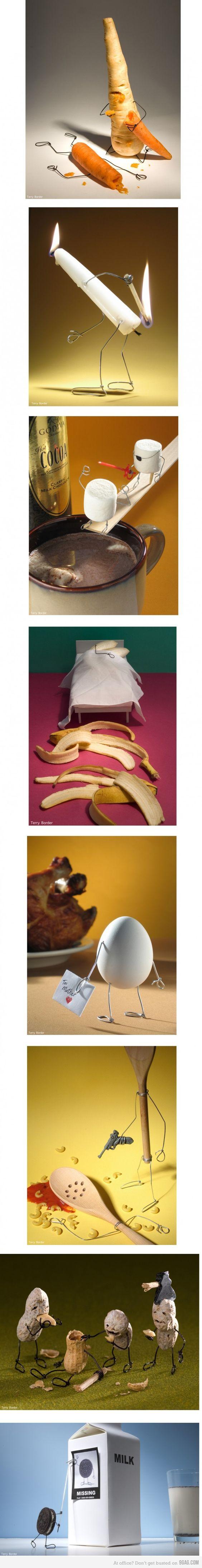 Das ist warum Bananen sind gekrümmt...