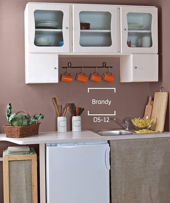 Los tonos marrones pueden hacer lucir tu cocina diferente y ...