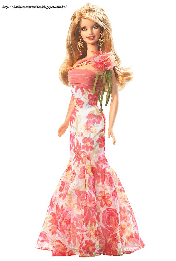 Barbie E Seus Vestidos: 2006 - I Dream of Spring™ Barbie® Doll