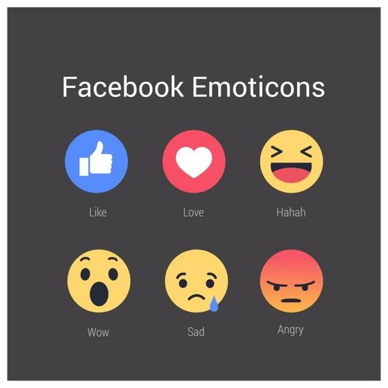 Facebook Emoticons Vector On Drak Background Facebook Icons Background Icons On Icons Png And Vector With Transparent Background For Free Download Facebook Emoticons Emoticon Facebook Icons