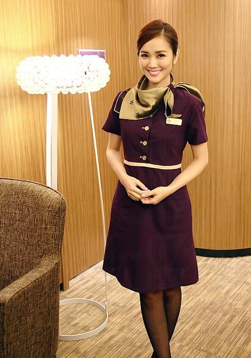 Hong kong airlines chief purser cabin crew uniform - China southern airlines hong kong office ...