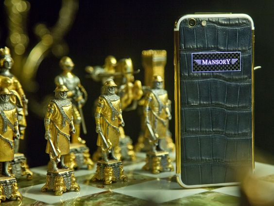 Mansory refined the new iPhone6 to make it an exclusive, unique piece. For further informations please visit: www.proudmag.com
