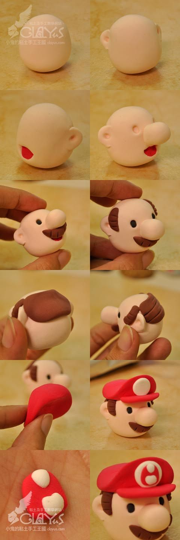 Air Dry Clay Tutorials: Mario & Luigi, Step by Step