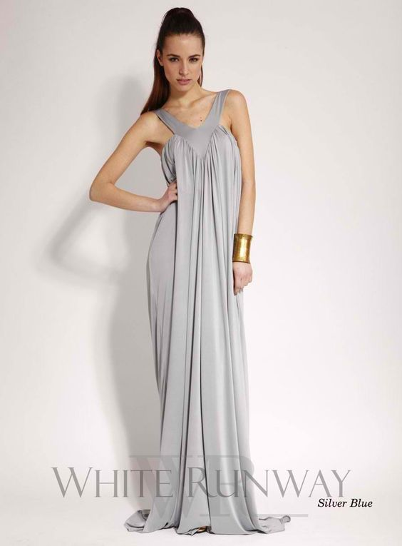 Maxi dress maternity zipper