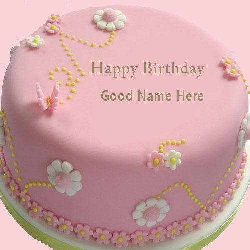 Birthday Cakes With Name Vaishali ~ Birthday name cake pictures and happy cakes on pinterest