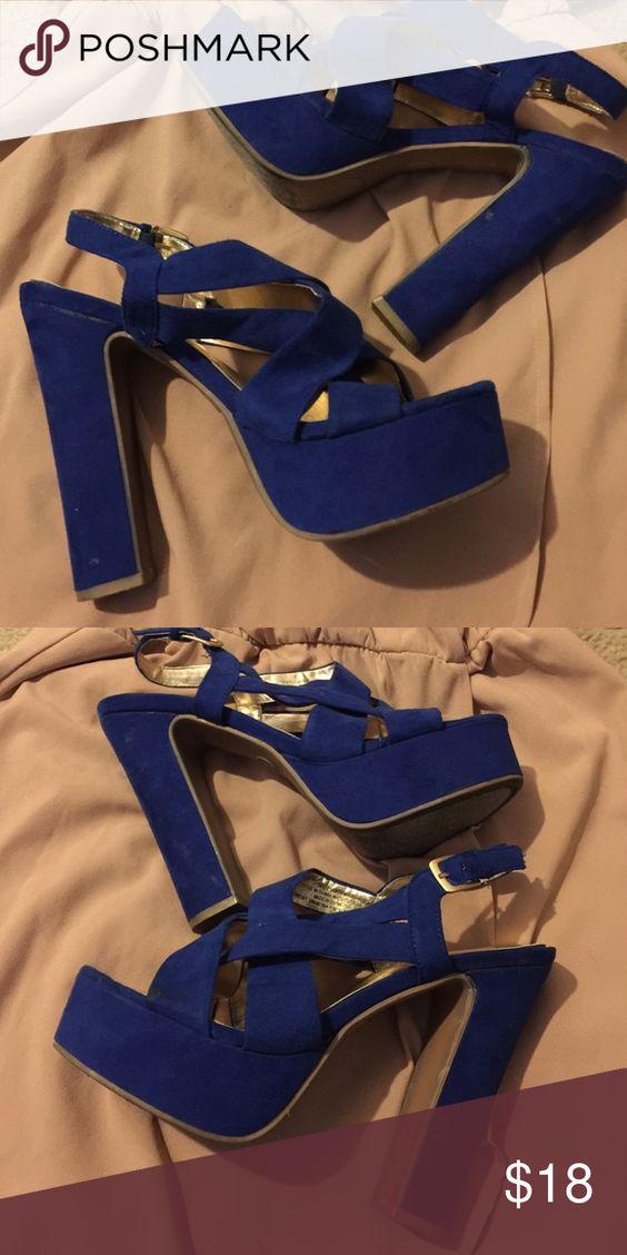 Royal Blue Heels Royal Blue Heels Mossimo Supply Co Shoes Heels