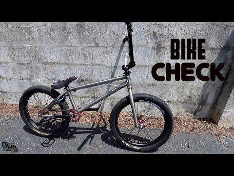 Brookyln Built One A Super Lightweight Bike With A Titanium Frame Fork And Parts Galore Hit Play To Get A Complete Look At Thi Bmx Lightweight Bike Bmx Bikes