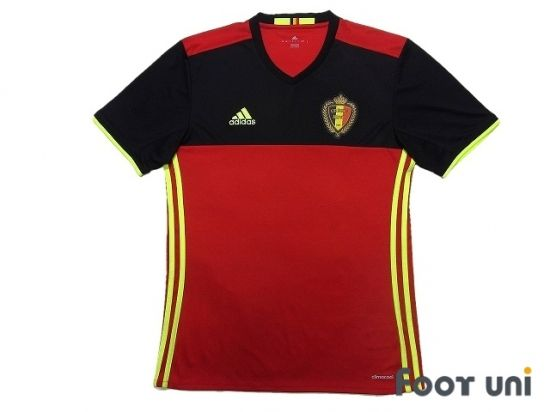 Belgium Euro 2016 Home Shirt In 2020 Retro Football Shirts Vintage Football Shirts Shirts