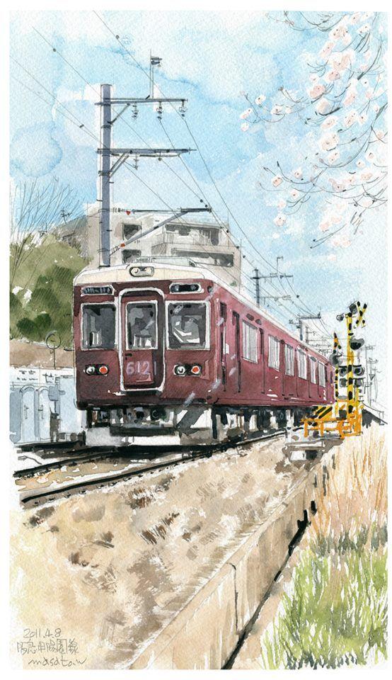 картинки чтобы рисовать в поезде волк