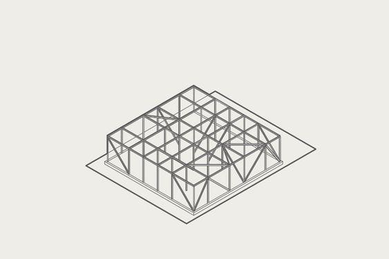 re-imaginando favelas com edifícios baseado em grid na Mafalala, Moçambique