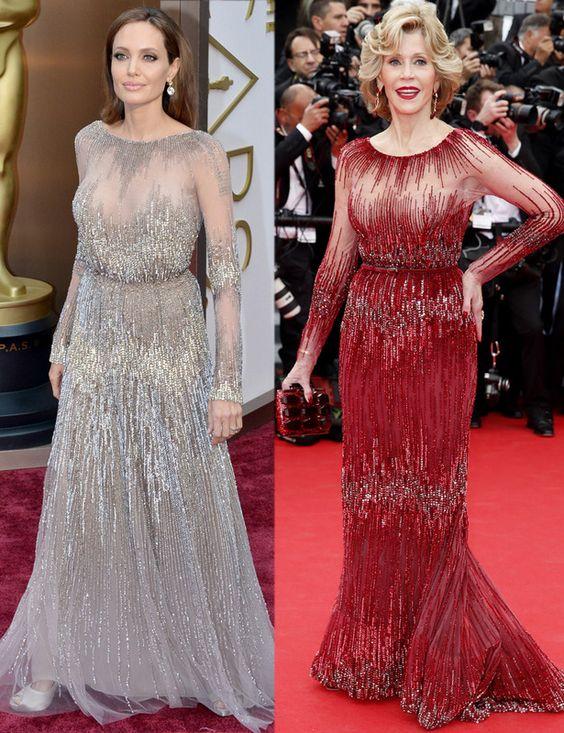 Angelina Jolie y Jane Fonda- dos diosas